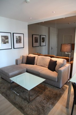 BKKMOVE Agency's 41sqm High Rise, Tasteful One Bedroom Condo for rent at Life Sathorn 10 4