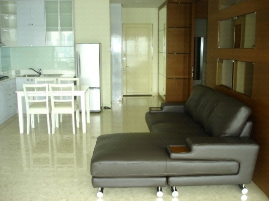 BKKMOVE Agency's 80sqm Traditional, High Rise One Bedroom Apartment for rent at Nusasiri Grand Condo 1