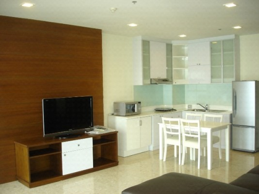 BKKMOVE Agency's 80sqm Traditional, High Rise One Bedroom Apartment for rent at Nusasiri Grand Condo 3