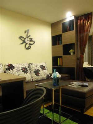 BKKMOVE Agency's 35sqm Cozy, Tasteful Studio Apartment for rent at The Fine 6