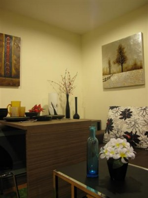BKKMOVE Agency's 35sqm Cozy, Tasteful Studio Apartment for rent at The Fine 5