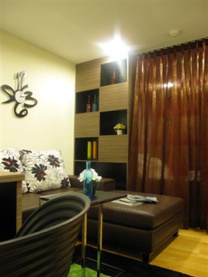 BKKMOVE Agency's 35sqm Cozy, Tasteful Studio Apartment for rent at The Fine 4