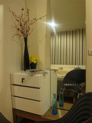 BKKMOVE Agency's 35sqm Cozy, Tasteful Studio Apartment for rent at The Fine 2
