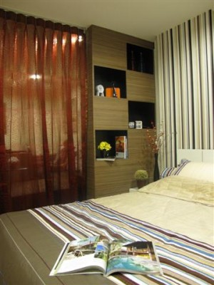 BKKMOVE Agency's 35sqm Cozy, Tasteful Studio Apartment for rent at The Fine 1