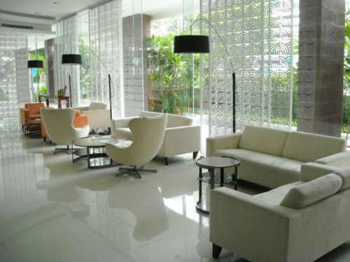 BKKMOVE Agency's 35sqm Cozy, Tasteful Studio Apartment for rent at The Fine 7