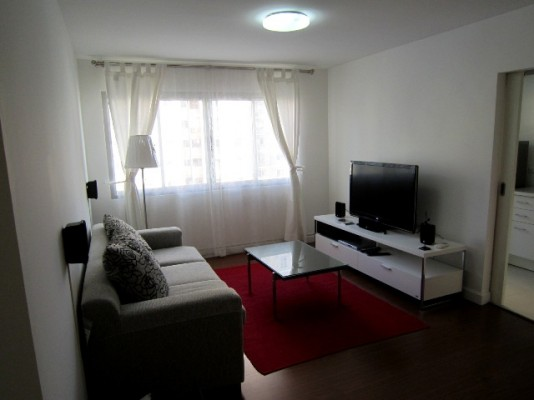 BKKMOVE Agency's 52sqm Nice, Contemporary One Bedroom Apartment for rent at Condo One X Naratiwat 24 2