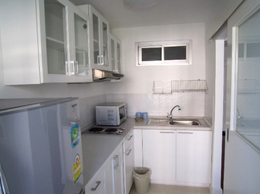 BKKMOVE Agency's 52sqm Nice, Contemporary One Bedroom Apartment for rent at Condo One X Naratiwat 24 4