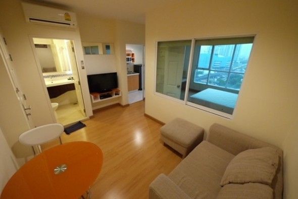 BKKMOVE Agency's 32sqm High Rise, Ready to move One Bedroom Flat to rent at Life Sukhumvit 65 4