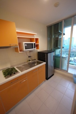 BKKMOVE Agency's 32sqm High Rise, Ready to move One Bedroom Flat to rent at Life Sukhumvit 65 3