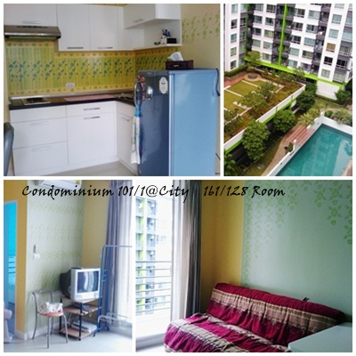 BKKMOVE Agency's 60sqm Well Price, Good deal Two Bedrooms Apartment to let at @City Sukhumvit 101/1 3