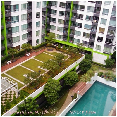 BKKMOVE Agency's 60sqm Well Price, Good deal Two Bedrooms Apartment to let at @City Sukhumvit 101/1 4