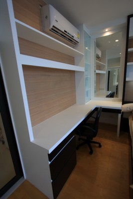 BKKMOVE Agency's 40sqm Brand New, Cozy Studio Flat to let at Villa Rachatewi 3