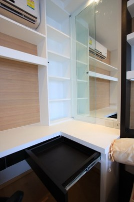 BKKMOVE Agency's 40sqm Brand New, Cozy Studio Flat to let at Villa Rachatewi 5