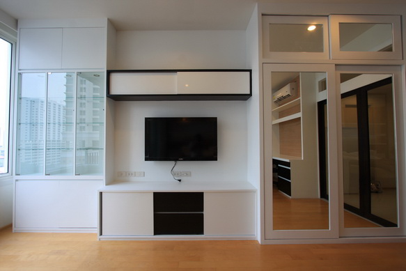 BKKMOVE Agency's 40sqm Brand New, Cozy Studio Flat to let at Villa Rachatewi 6