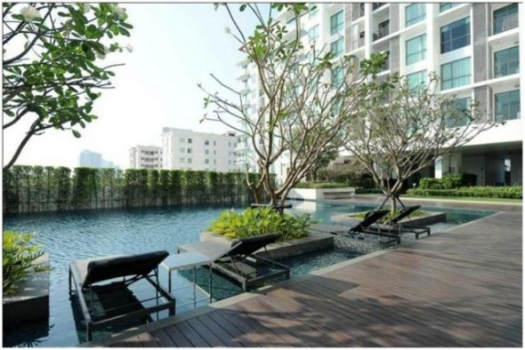 BKKMOVE Agency's 45sqm Luxury, Nice Taste One Bedroom Condo to let at The Room Sukhumvit 62 9