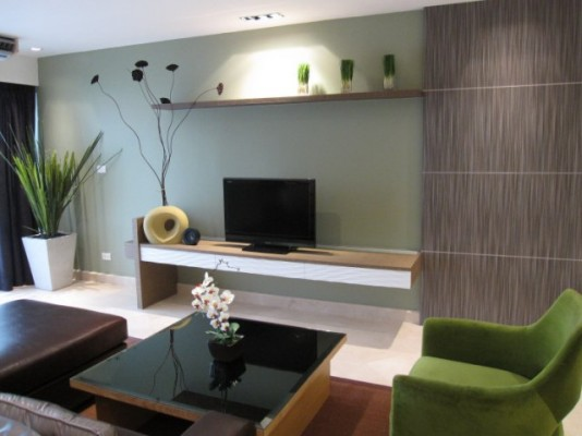 104sqm Spacious, Tasteful Two Bedrooms Condo to let at Bangkok Garden