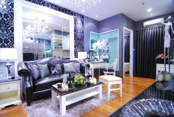 BKKMOVE Agency's 39sqm Luxury, Beautiful One Bedroom Condo for rent at Ivy Sathorn 10 1