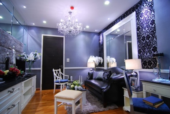 BKKMOVE Agency's 39sqm Luxury, Beautiful One Bedroom Condo for rent at Ivy Sathorn 10 3