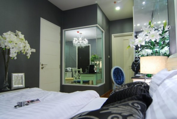 BKKMOVE Agency's 39sqm Luxury, Beautiful One Bedroom Condo for rent at Ivy Sathorn 10 4