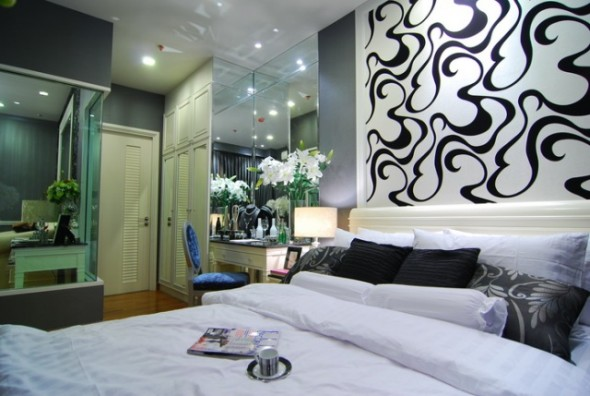BKKMOVE Agency's 39sqm Luxury, Beautiful One Bedroom Condo for rent at Ivy Sathorn 10 5