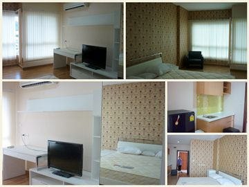 BKKMOVE Agency's 30sqm Brand New, Well price Studio Apartment for rent at PG Rama 9 1