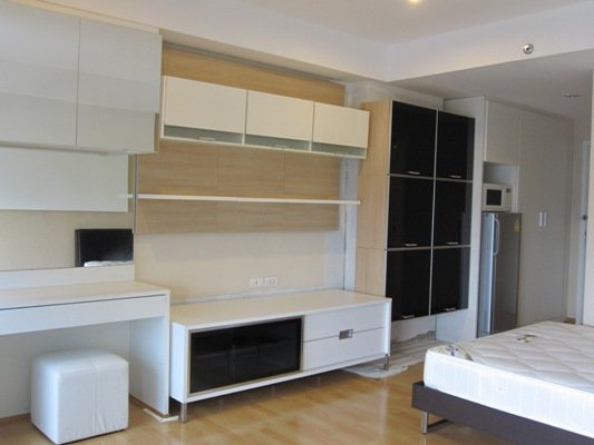 BKKMOVE Agency's 30sqm Nice, Well price Studio Condo to let at The Inspire Place ABAC 2