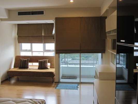 BKKMOVE Agency's 30sqm Nice, Well price Studio Condo to let at The Inspire Place ABAC 3