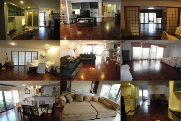 BKKMOVE Agency's 336sqm Spacious, Beautiful Three Bedrooms Condo to let at Wattana Heights 1
