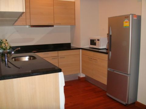 BKKMOVE Agency's 92sqm Spacious, Modern Two Bedrooms Condo for rent at The Address Chidlom 2
