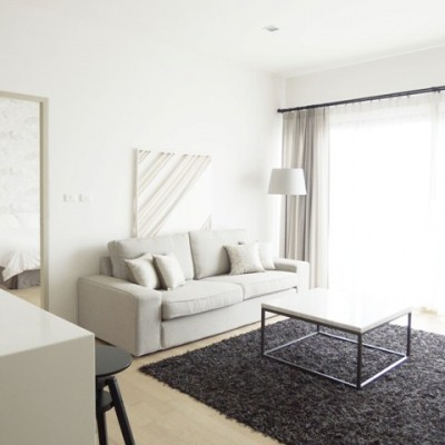 BKKMOVE Agency's 54sqm Modern, Tasteful One Bedroom Condo to let at Noble Reveal 2