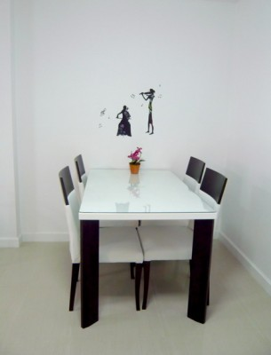 BKKMOVE Agency's 53sqm Nice, Convenient One Bedroom Condo for rent at Condo One Siam 7