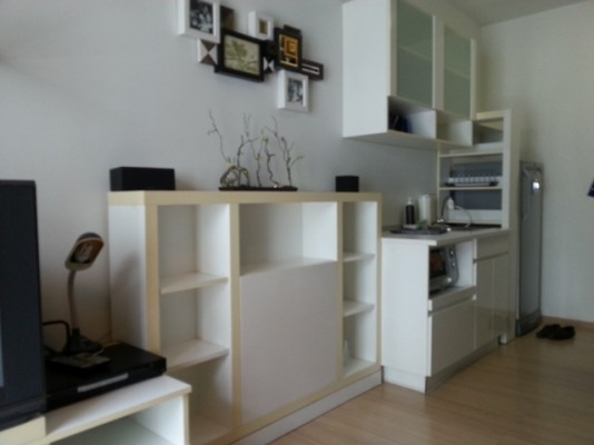 BKKMOVE Agency's 35sqm Beautiful, Convenient One Bedroom Condo to let at A Space Asoke Ratchada 3