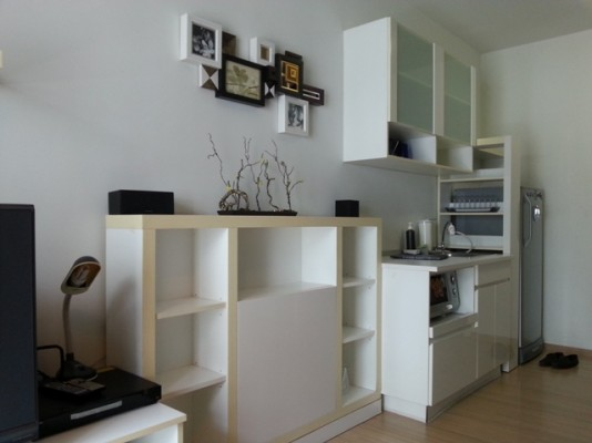 BKKMOVE Agency's 35sqm Beautiful, Convenient One Bedroom Condo to let at A Space Asoke Ratchada 4
