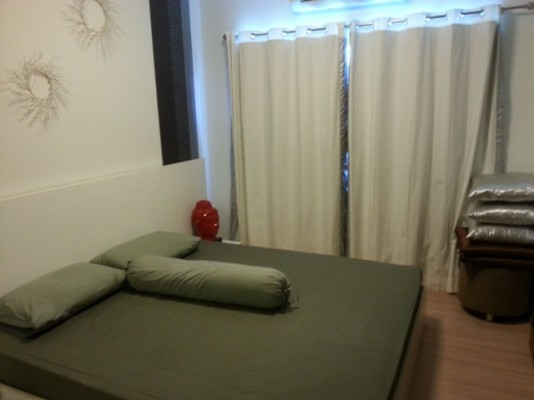 BKKMOVE Agency's 35sqm Beautiful, Convenient One Bedroom Condo to let at A Space Asoke Ratchada 5