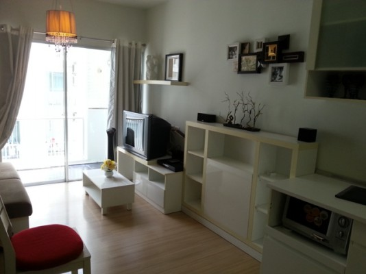 BKKMOVE Agency's 35sqm Beautiful, Convenient One Bedroom Condo to let at A Space Asoke Ratchada 1