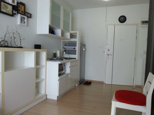 BKKMOVE Agency's 35sqm Beautiful, Convenient One Bedroom Condo to let at A Space Asoke Ratchada 2