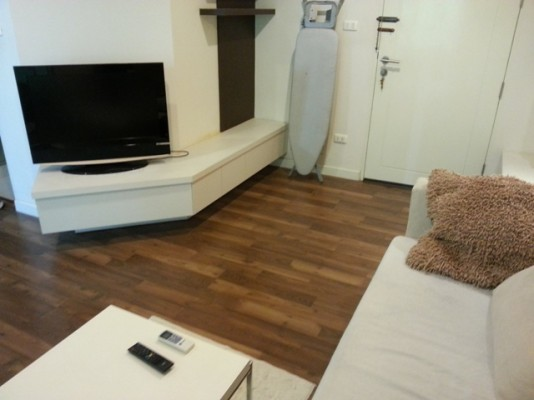 BKKMOVE Agency's 38sqm Tasteful, Well priced One Bedroom Flat to let at The Room Sukhumvit 79 1