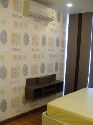 BKKMOVE Agency's 36sqm Cozy, Brand New One Bedroom Condo for rent at Wish @ Samyan 6