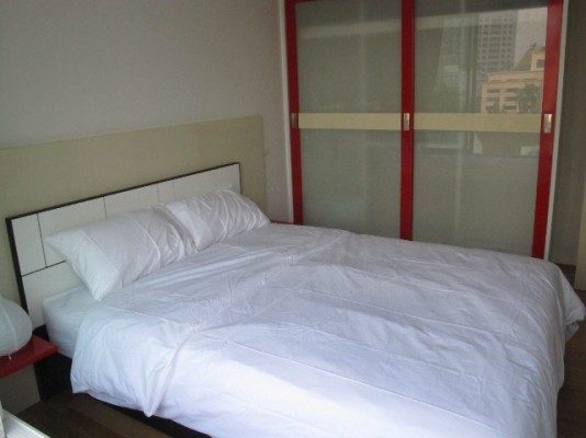 BKKMOVE Agency's 44sqm Brand New, Modern One Bedroom Condo for rent at Focus On Saladaeng 2