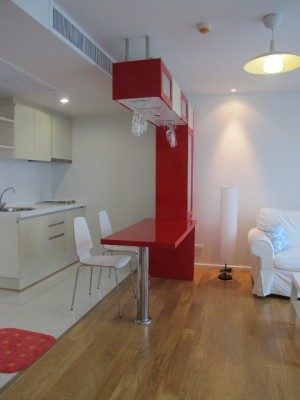 BKKMOVE Agency's 44sqm Brand New, Modern One Bedroom Condo for rent at Focus On Saladaeng 5