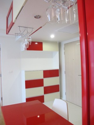 BKKMOVE Agency's 44sqm Brand New, Modern One Bedroom Condo for rent at Focus On Saladaeng 6