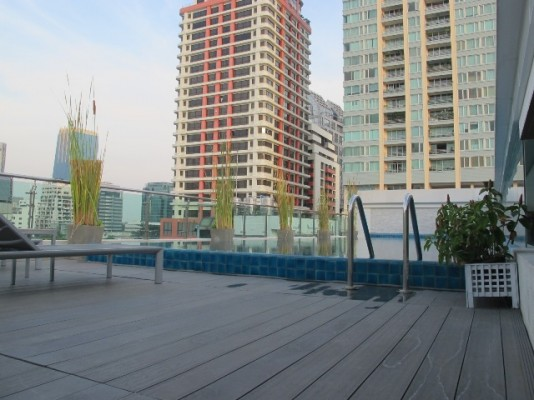 BKKMOVE Agency's 44sqm Brand New, Modern One Bedroom Condo for rent at Focus On Saladaeng 7