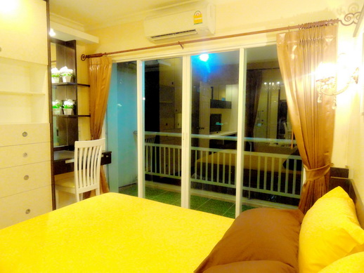 BKKMOVE Agency's 36sqm Elegant, Nice One Bedroom Condo for rent at Grand Park View Asoke 10