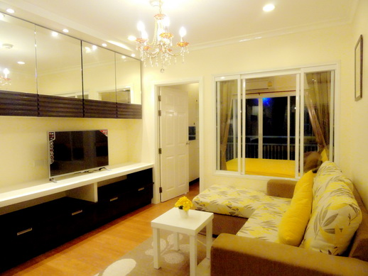 BKKMOVE Agency's 36sqm Elegant, Nice One Bedroom Condo for rent at Grand Park View Asoke 2