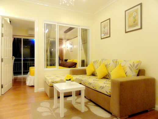 BKKMOVE Agency's 36sqm Elegant, Nice One Bedroom Condo for rent at Grand Park View Asoke 3