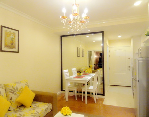 BKKMOVE Agency's 36sqm Elegant, Nice One Bedroom Condo for rent at Grand Park View Asoke 4