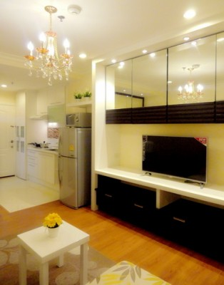 BKKMOVE Agency's 36sqm Elegant, Nice One Bedroom Condo for rent at Grand Park View Asoke 5