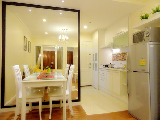 BKKMOVE Agency's 36sqm Elegant, Nice One Bedroom Condo for rent at Grand Park View Asoke 6