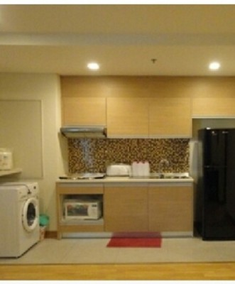 BKKMOVE Agency's 85sqm Spacious, Modern Two Bedrooms Condo for rent at Le Luk 6