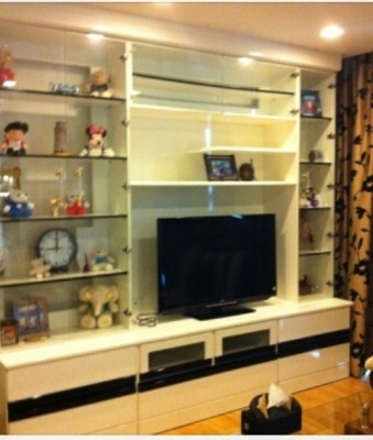 BKKMOVE Agency's 85sqm Spacious, Modern Two Bedrooms Condo for rent at Le Luk 8